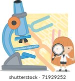 science day | Shutterstock .eps vector #71929252