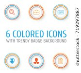 human icons set. collection of... | Shutterstock .eps vector #719297887
