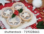 Christmas Mince Pie Cakes On A...
