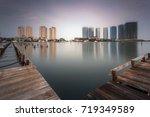 regatta is a new estate complex ... | Shutterstock . vector #719349589
