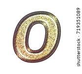 sparkling vintage printed... | Shutterstock . vector #719351089