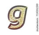 sparkling vintage printed... | Shutterstock . vector #719351599