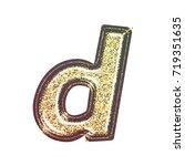 sparkling vintage printed... | Shutterstock . vector #719351635