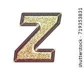 sparkling vintage printed... | Shutterstock . vector #719353831