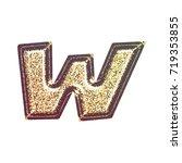 sparkling vintage printed... | Shutterstock . vector #719353855