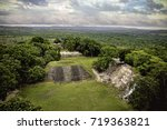 View Of Xunantunich Ruins In...