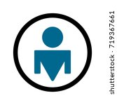 illustration of a large badge... | Shutterstock .eps vector #719367661