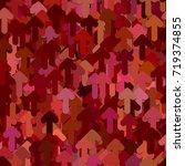 seamless geometric arrow... | Shutterstock .eps vector #719374855