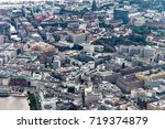 hamburg   panorama of  a great... | Shutterstock . vector #719374879
