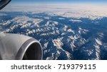 The Mountains Through Plane...