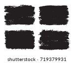 vector grunge banners.grunge... | Shutterstock .eps vector #719379931