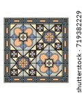 mosaic carpets | Shutterstock .eps vector #719382229