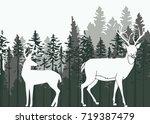 silhouette illustration of a... | Shutterstock .eps vector #719387479