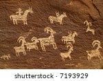 Ute Petroglyphs At Wolfe Ranch...