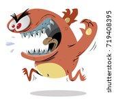 monster | Shutterstock .eps vector #719408395