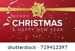 merry christmas background...   Shutterstock .eps vector #719412397