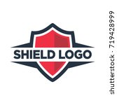 Shield Symbol For Security...