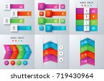 set with infographics. data and ...   Shutterstock .eps vector #719430964