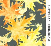 seamless tie dye pattern with... | Shutterstock . vector #719431849