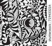 vector seamless abstract... | Shutterstock .eps vector #719433214