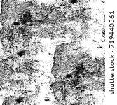 grunge black and white vector... | Shutterstock .eps vector #719440561