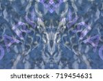 an abstract background formed... | Shutterstock . vector #719454631