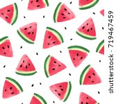 seamless pattern with... | Shutterstock . vector #719467459