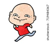 cartoon creepy guy | Shutterstock .eps vector #719484367