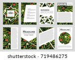abstract vector layout... | Shutterstock .eps vector #719486275