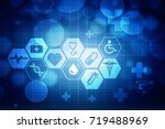 2d illustration medical... | Shutterstock . vector #719488969