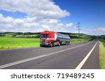 truck transportation   Shutterstock . vector #719489245