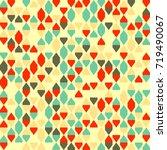 geometric pattern design  | Shutterstock .eps vector #719490067
