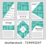 abstract vector layout... | Shutterstock .eps vector #719493247