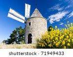 Windmill  Montfuron  Provence ...