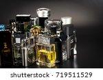 many brands of bottles of...   Shutterstock . vector #719511529
