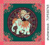 invitation  vintage greeting... | Shutterstock .eps vector #719530765