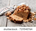 Homemade  Date And Walnut Loaf...