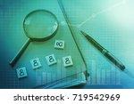 human resource management and... | Shutterstock . vector #719542969