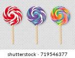 lollipop set   Shutterstock . vector #719546377