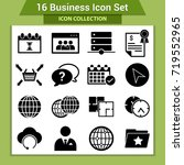 business finance icon set | Shutterstock .eps vector #719552965