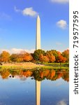 washington dc   washington... | Shutterstock . vector #719577595
