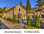 church of st. petka on... | Shutterstock . vector #719601301