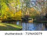 canals of amstelveen  the... | Shutterstock . vector #719643079