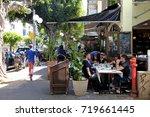 tel aviv  israel   april 1 ...   Shutterstock . vector #719661445