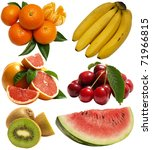 fruits | Shutterstock . vector #71966815