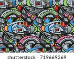 vector seamless abstract