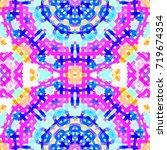 abstract watercolor... | Shutterstock . vector #719674354
