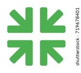 minimize arrow | Shutterstock .eps vector #719678401