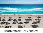cancun  mexico   march 10 ... | Shutterstock . vector #719706091