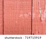 close up detail of a rustic red ... | Shutterstock . vector #719715919